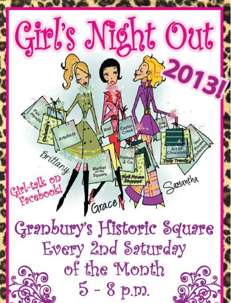 Girls Night Out On The Granbury Square
