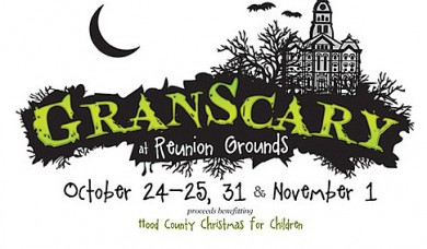Granscary -  A Halloween event benefiting Christmas for Children @ Reunion Grounds | Granbury | Texas | United States