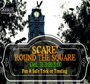 Trick or Treat Around the Square @ Historic Granbury Square