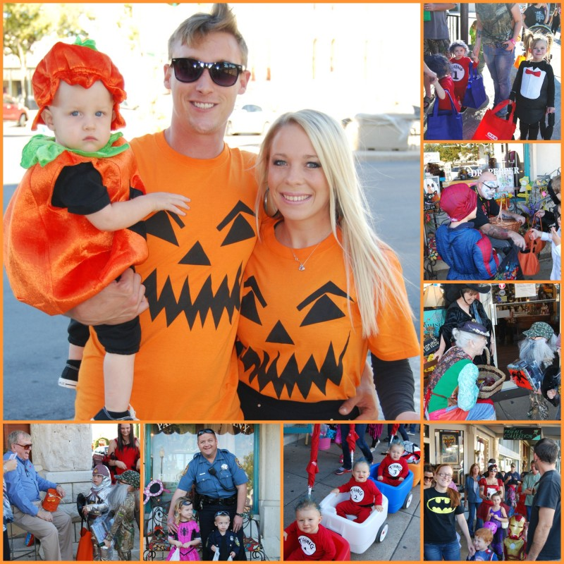 trick or treat around the granbury square, granbury square