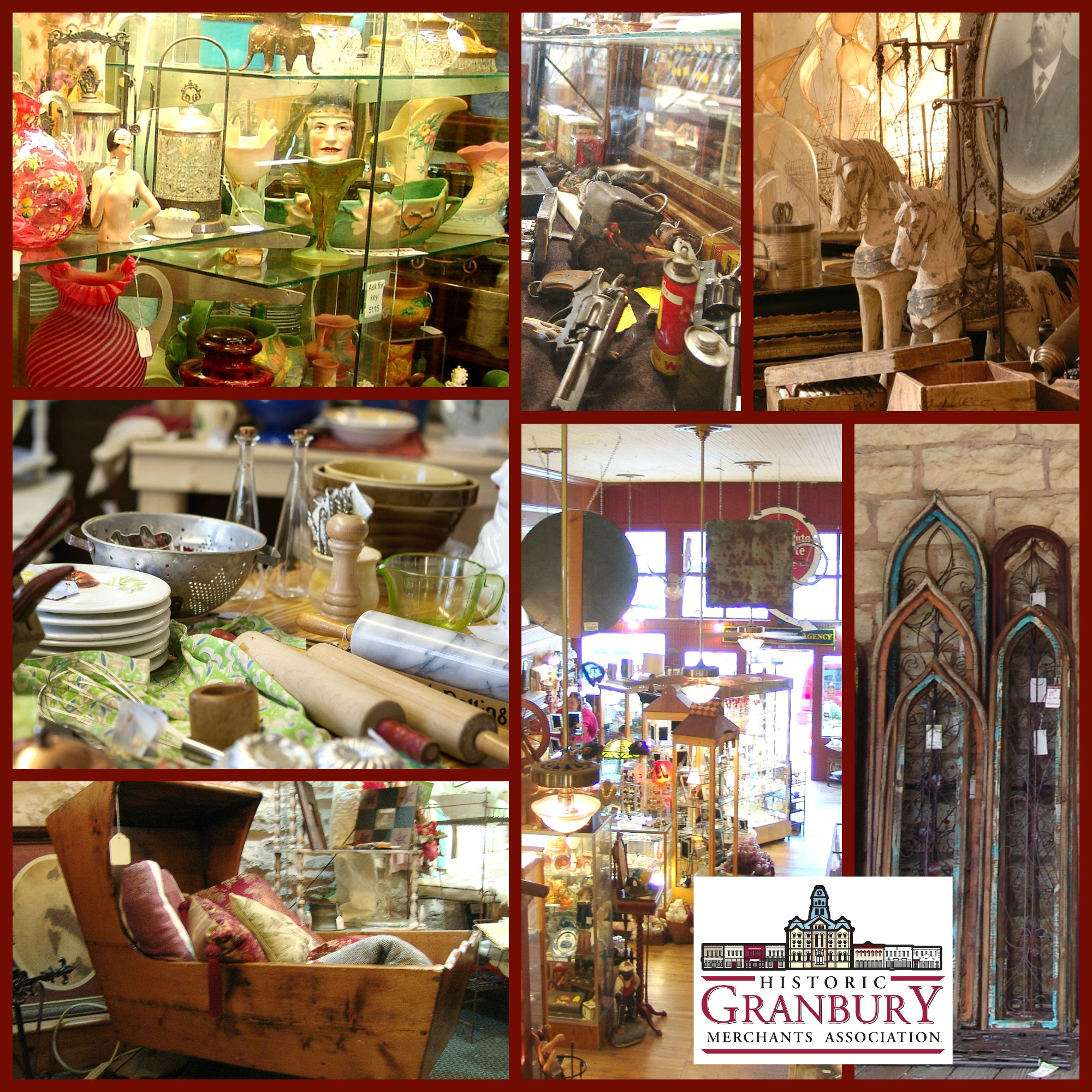 Granbury Texas Antique Destination Shopping