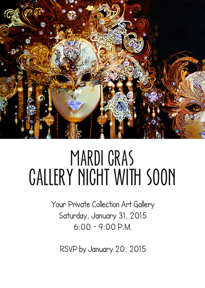 Your Private Collection Art Gallery - Mardi Gras Night @ Your Private Collection Art Gallery | Granbury | Texas | United States