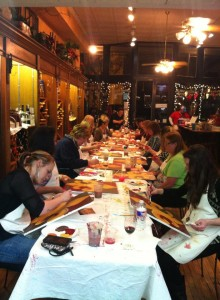 Corks and Canvas Class @ D'Vine Wine | Granbury | Texas | United States