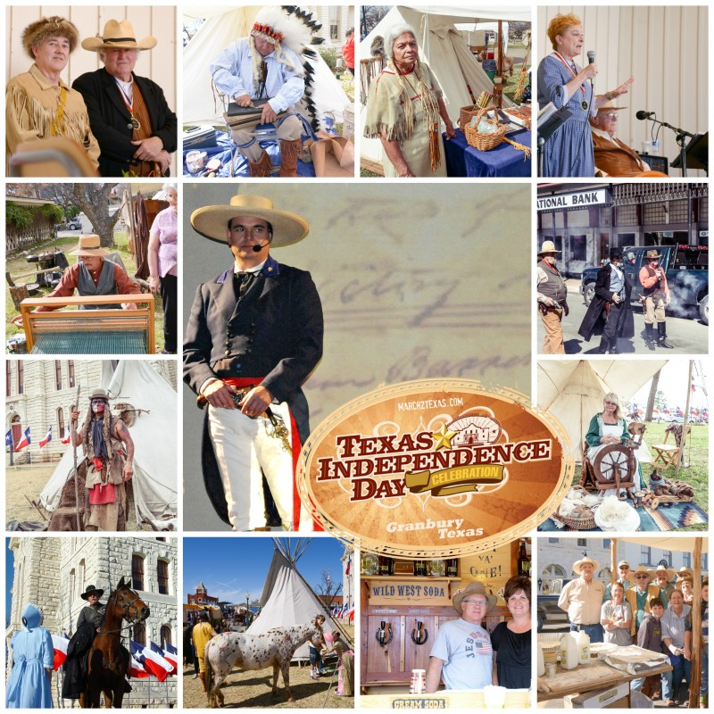texas independence day Granbury texas, march2texas, granbury square