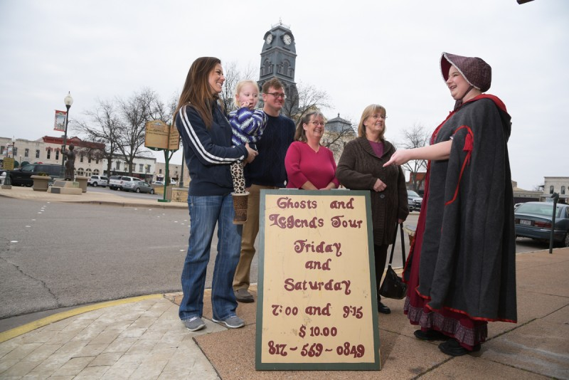 Granbury Ghost and Legends Tour @ Historic Granbury Square