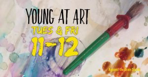 Young at Art Class - Against the Grain Studio @ Against The Grain on the Granbury Square | Granbury | Texas | United States
