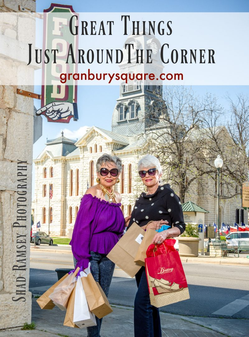 Shop, Stroll & Savor @ Historic Granbury Square
