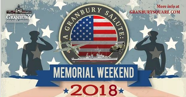 A Granbury Salute Memorial Weekend