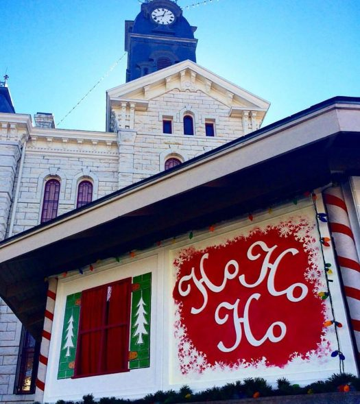 Santa House 2018 @ Historic Granbury Square | Granbury | Texas | United States