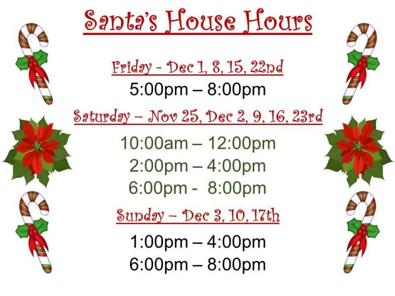 Visit the Santa House @ Historic Granbury Square | Granbury | Texas | United States