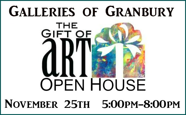 Galleries of Granbury Holiday Open House