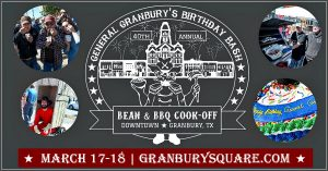 General Granbury's Birthday Bash and Cook-Off