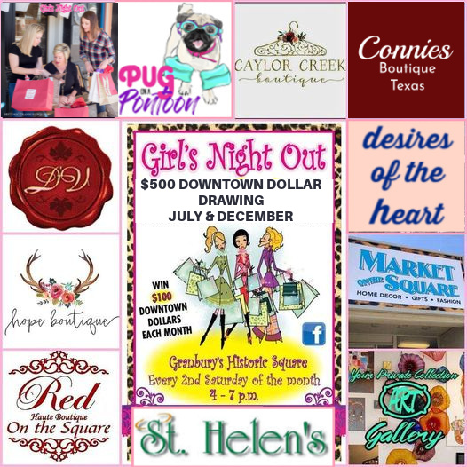 Girls Night Out @ The Granbury Square