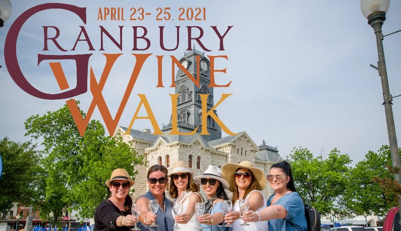 Granbury Wine Walk @ The Granbury Square